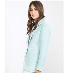 Forever 21 Mint Boucle Coat - NWT
